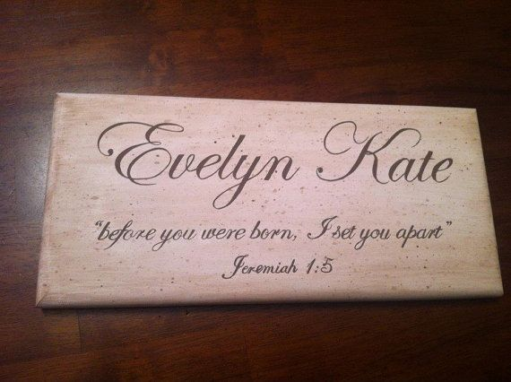 Custom writing signs in wooden