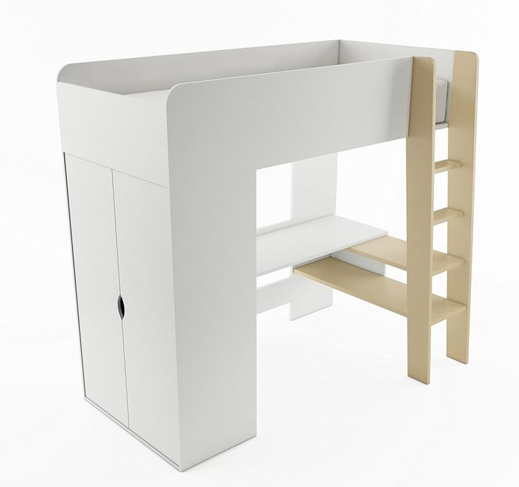 ber ideen zu hochbett mit schreibtisch auf. Black Bedroom Furniture Sets. Home Design Ideas