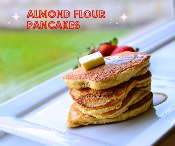 Almond Flour Pancakes: SBD Phase 1 Vegetarian
