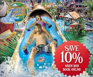 Alton Towers - Save 10% on ticket prices when you book online.
