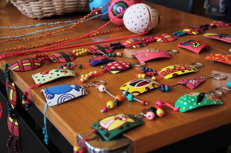 Artesanías en totumo: Artesanías En, Crafts