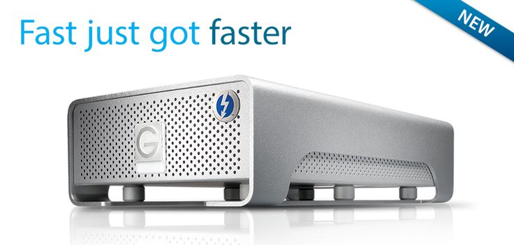 #GDRIVE Pro with #Thunderbolt