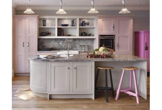 7 best images about backsplash travertine on pinterest for Pink and black kitchen ideas