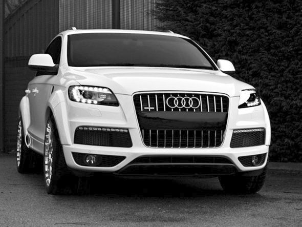 My other, NEW, dream car/SUV. This is the Audi Q7 TDI! Mid-sized luxury SUV, starting at around $44,000! I loved the black and the ivory colors. Truly beautiful SUV. Would love to drive it even though I don't need any of the room! Lol