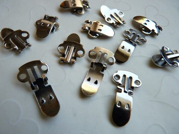 Shoe Clip Blanks Craft Supplies