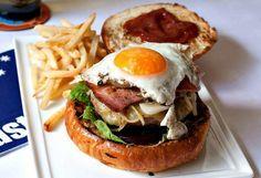 Aussie Burger – Australia   15 Amazing Recipes From Around The Globe