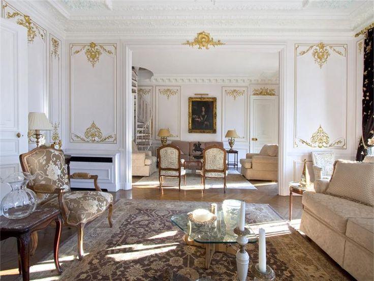Luxury Contemporary Paris Apartment   Furniture Modern Latest Furniture