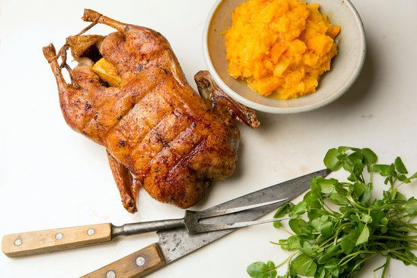 Recipe: Roast duck with orange and ginger. Photo: Fred R. Conrad/The New York Times