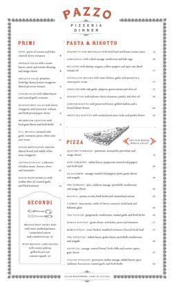 Dinner in Pizzeria