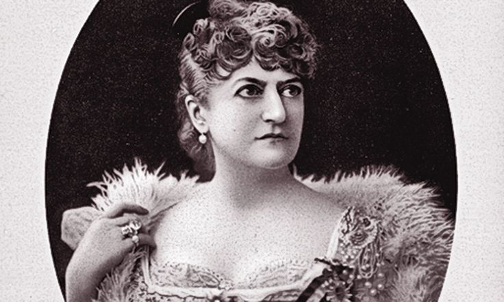 While author and publisher Mrs. Miriam Leslie was not on the Union Pacific Railroad executive tours of the new transcontinental line in 1868-'69, she wrote A Pleasure Trip from Gotham to the Golden Gate based on her own cross-country round trip rail adventure. In 1880, she inherited her husband's paper, Frank Leslie's Illustrated Newspaper, and continued to promote proper rail travel for women. – Miriam Leslie photo courtesy of New York Public Library –