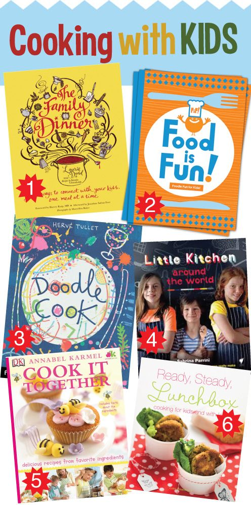 Cooking with Kids: Favourite Cookbooks for Your Junior Masterchef