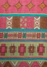 Sjaal azteek : cassis