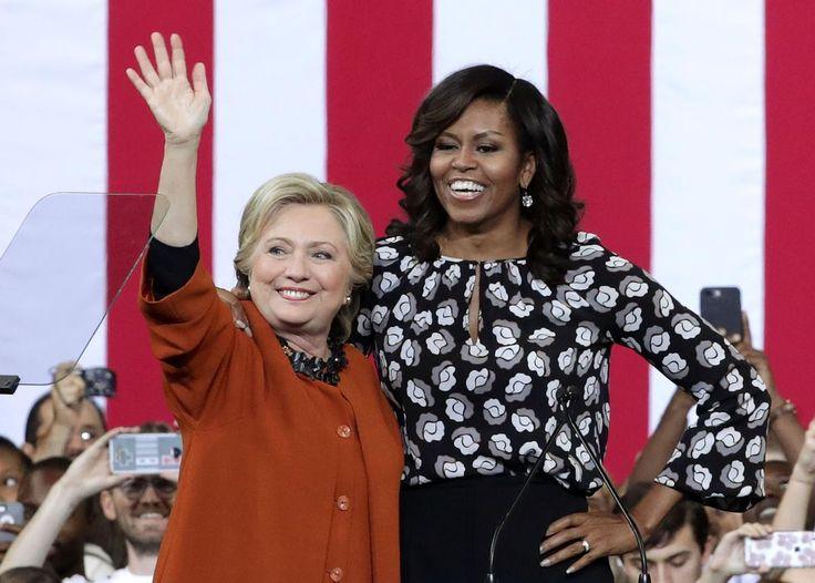 Et si la première dame prétendait à la présidence des États-Unis à son tour ? Bien des éléments pointent du doigt une trajectoire à la Hillary Clinton.