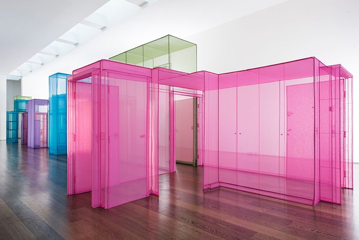 do ho suh's immersive fabric passages cross cultural boundaries at victoria miro gallery