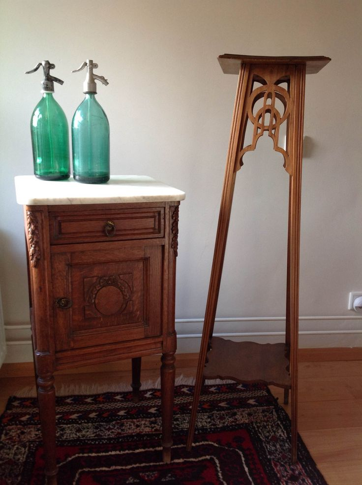 Wooden Plant Stand With Marble Top Woodworking Projects