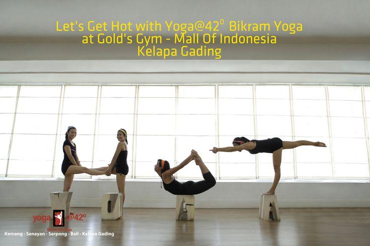 We love Yoga@42 Bikram Yoga Jakarta, best studio in town  www.bikramyogajakarta.com