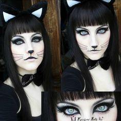 Acompaña tu #disfraz de #halloween con un clásico y fácil #maquillaje #DIY