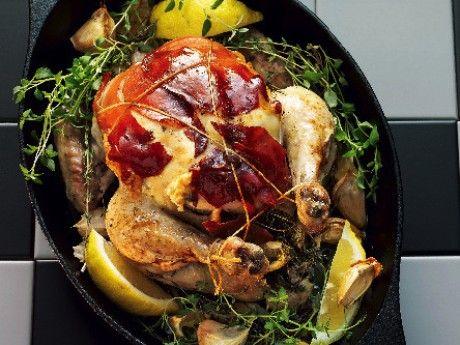 Kyckling med fetaost och parmaskinka - Allt om Mat