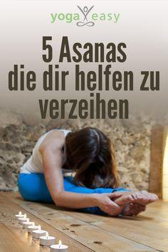 Yoga für die Psyche: Diese Yoga-Übungen helfen dir zu verzeihen – dir selbst und anderen.
