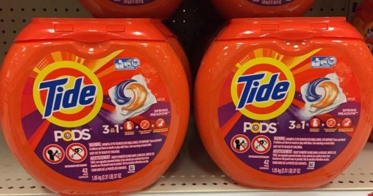 $2/1 Tide Pods Coupon + Target Cheapie Deal - https://couponsdowork.com/2017/coupon-deals/21-tide-pods-coupon-target-cheapie-deal/