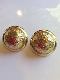 Vintage accessocraft NYC earrings