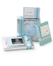 Fold a pocket in the wrapping paper to hold the card: Built In Gift, Wrapping Paper, Gift Ideas, Gift Cards, Wrapping Gift