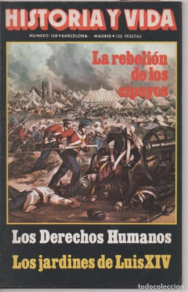 HISTORIA Y VIDA Nº 168 OPERACIÓN BERNHARD: LA MAYOR FALSIFICACIÓN DE BILLETES, LOS CIPAYOS, INDIA.