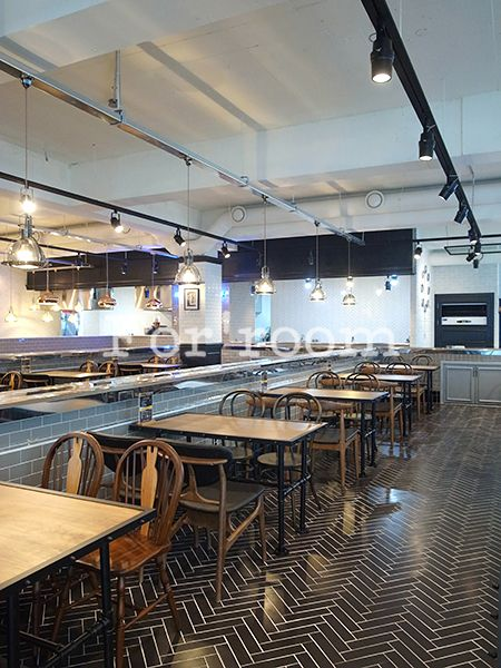 Maison de Sushi, the urban fresh eatery, European Sushi and Salad Restaurant. designed by For'room