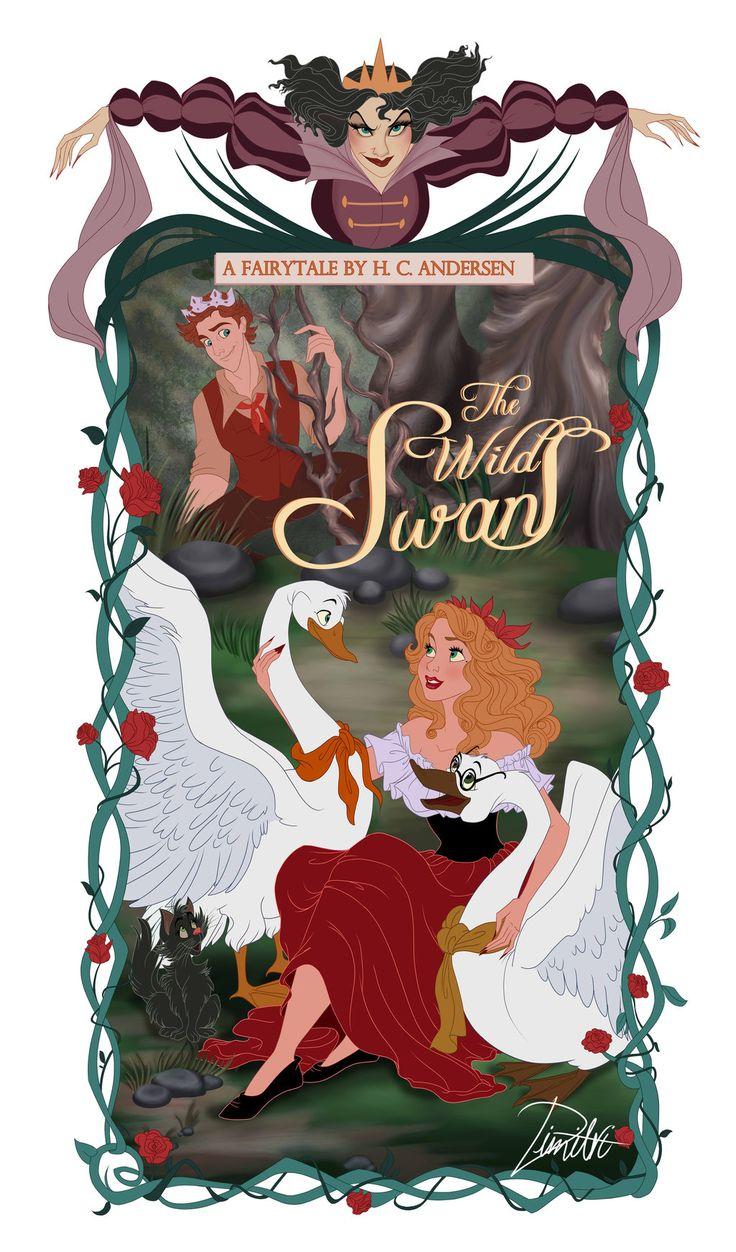 Eliza and the Wild Swans by DimitriKJr.deviantart.com on @deviantART