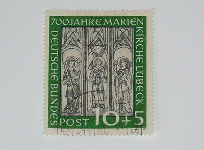 Stamp Pickers Germany 1951 Marienkirche Semi-Post Scott #B316 VFU $67