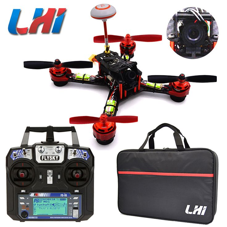 LHI Quadcopter RC Drone Spy Fpv With Camera Helicopter VTX Mini Quadrocopter