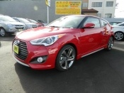 We have this red-hot Veloster in stock now! Come in for a test drive today! #hyundai #veloster #mpg