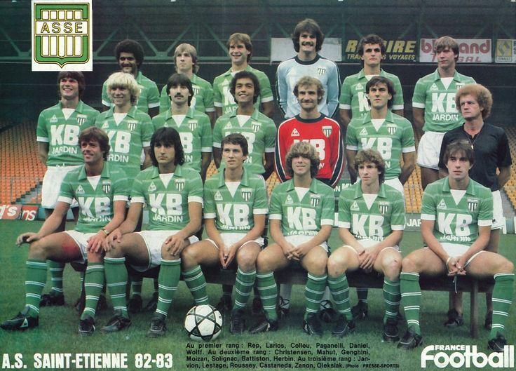 A.S SAINT-ETIENNE 1982-83