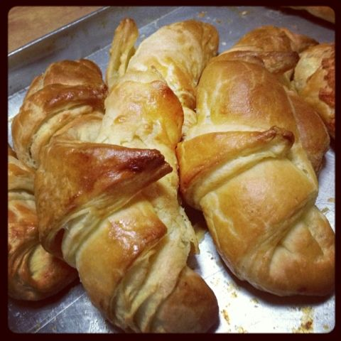Mommy In The Kitchen: Homemade Croissants (Danish Pastry)
