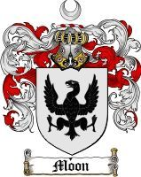 Moon Coat of Arms / Moon Family Crest