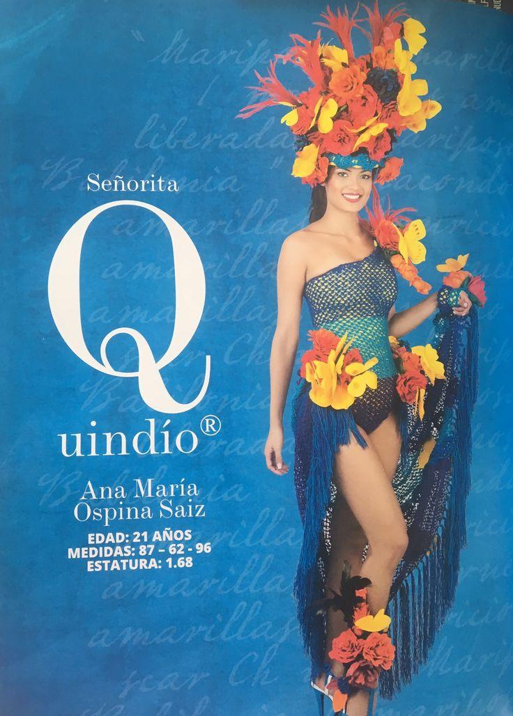 Señorita Quindío Ana María Ospina Saiz