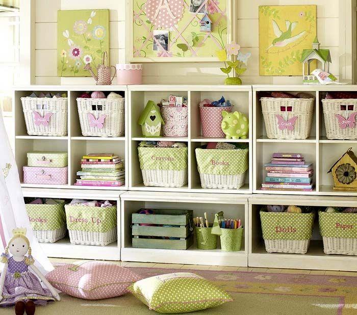 Порядок в детской. Системы хранения для детских комнат