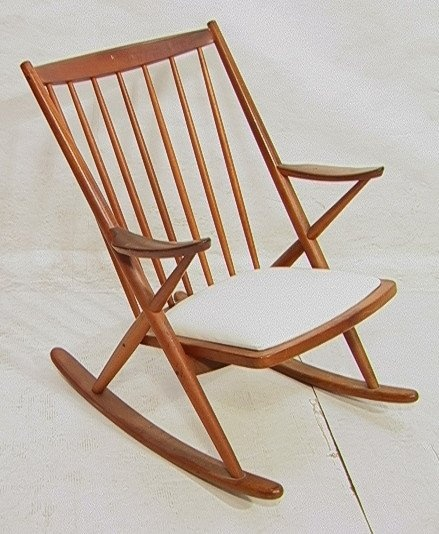Frank Reenskaug Teak Rocking Chair c.1958