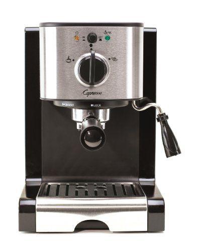 Capresso EC100 Pump Espresso and Cappuccino Machine - https://twitter.com/itscoffeebeans/status/605749579070332929