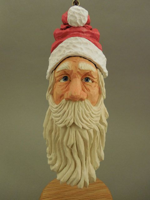 Images about santa carvings on pinterest folk art