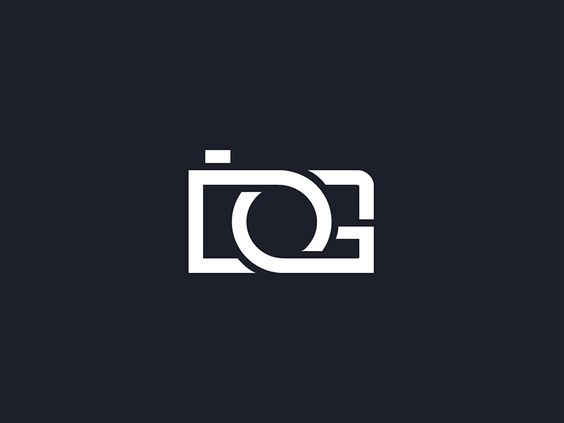 Monogram logo DG