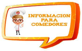 Información para comedores
