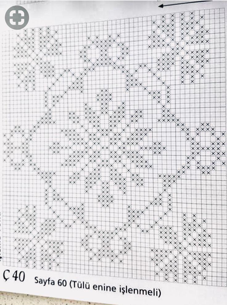 Mejores 800 imágenes de crochet filet en Pinterest | Alfombras ...