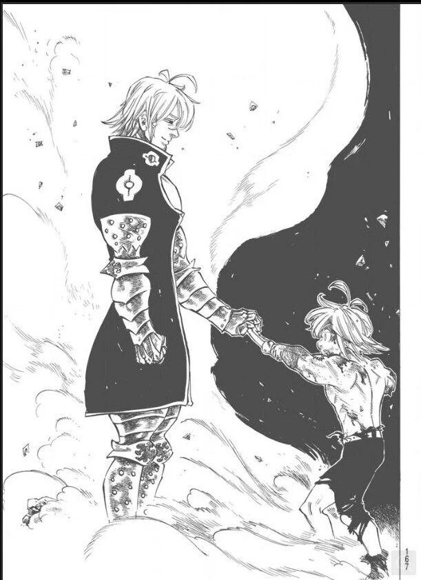 Nanatsu no Taizai {The Seven Deadly Sins} RAW manga 175 [Spoiler] | Estarossa VS Meliodas.