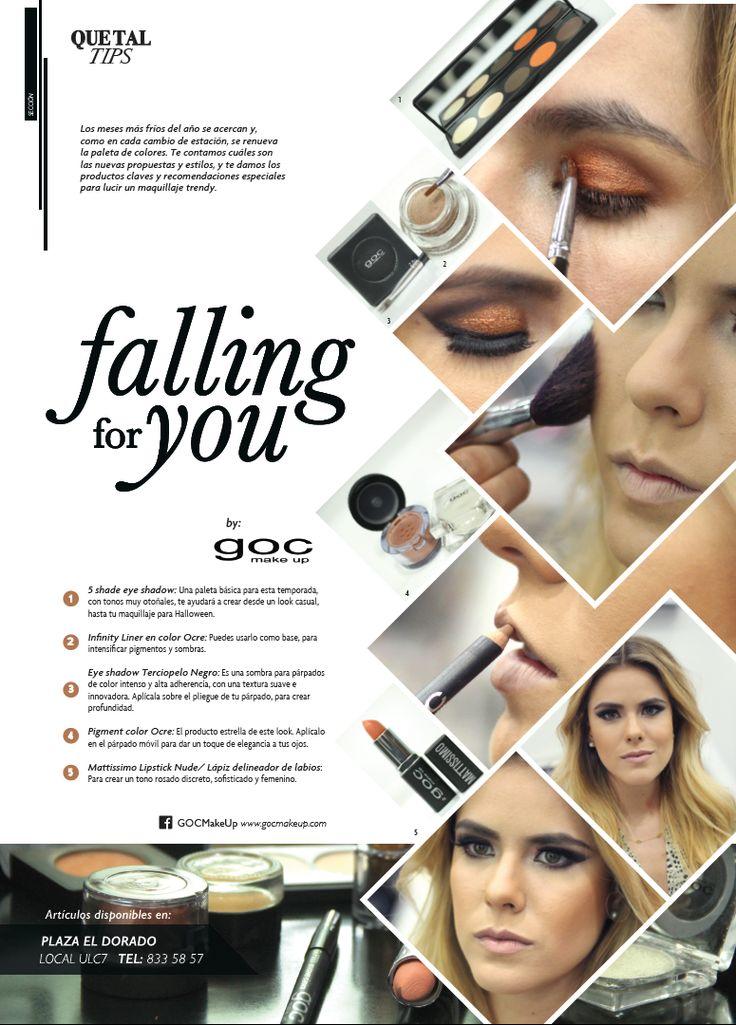 Aprende a maquillarte para esta temporada de OTOÑO | Quetal #makeup #otoño #tips #fallingforyou #maquillaje #GOC