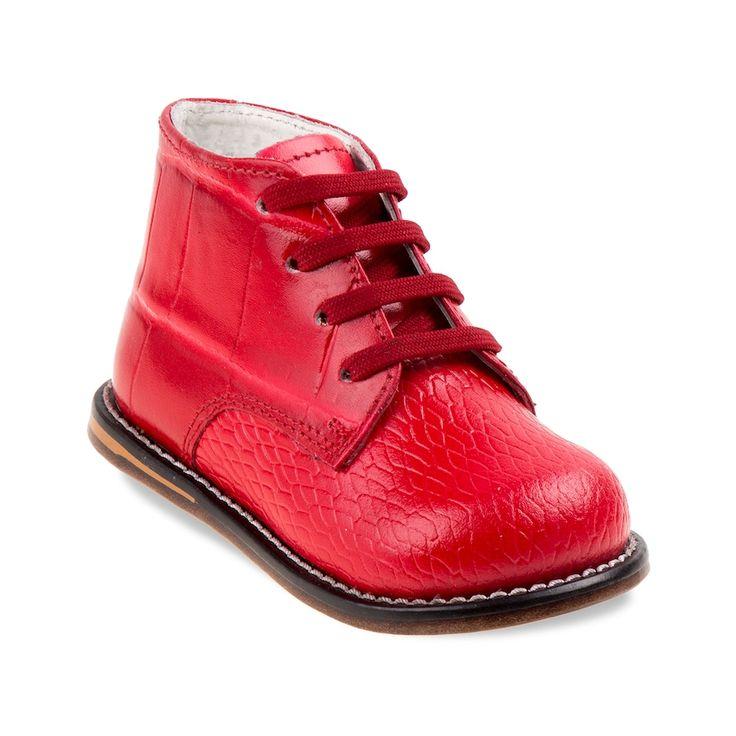 Josmo Toddler Walking Shoes, Kids Unisex, Size: 4.5 T, Red