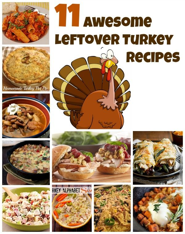 11 Awesome Men S Casual Street Style Fashion: 11 Awesome Leftover Turkey Recipes