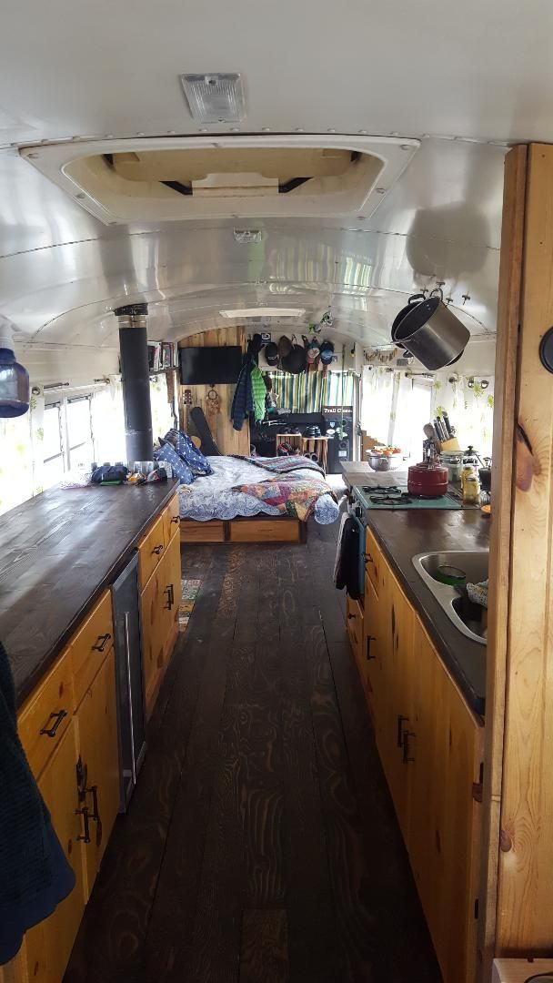 1997 GMC Bluebird School Bus Conversion For Sale | BleuBirb