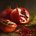 Garlic Painting by Robert Papp