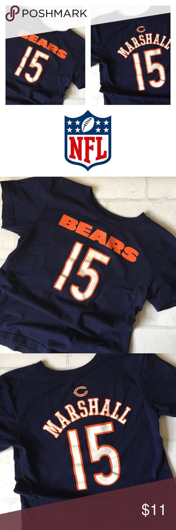 NWOT Official NFL Chicago Bears Boys Shirt 6x/7 This is for the true fan. This top is a 6x/7 and is official NFL gear. Brand new without tag. Never worn. Properly stored. NFL Shirts & Tops